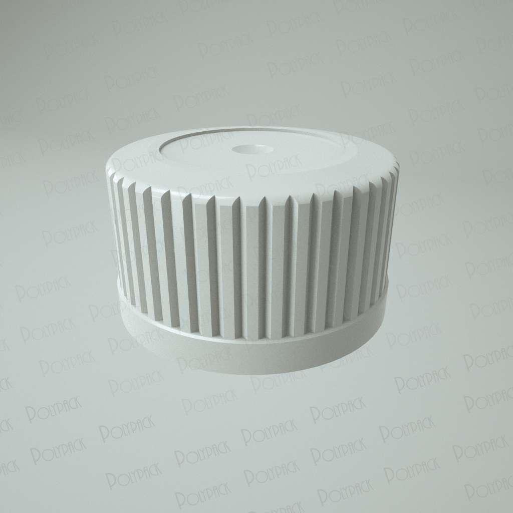Крышка навинчиваемая для флакона – ПЭТ 100 мл / КН-22 фото