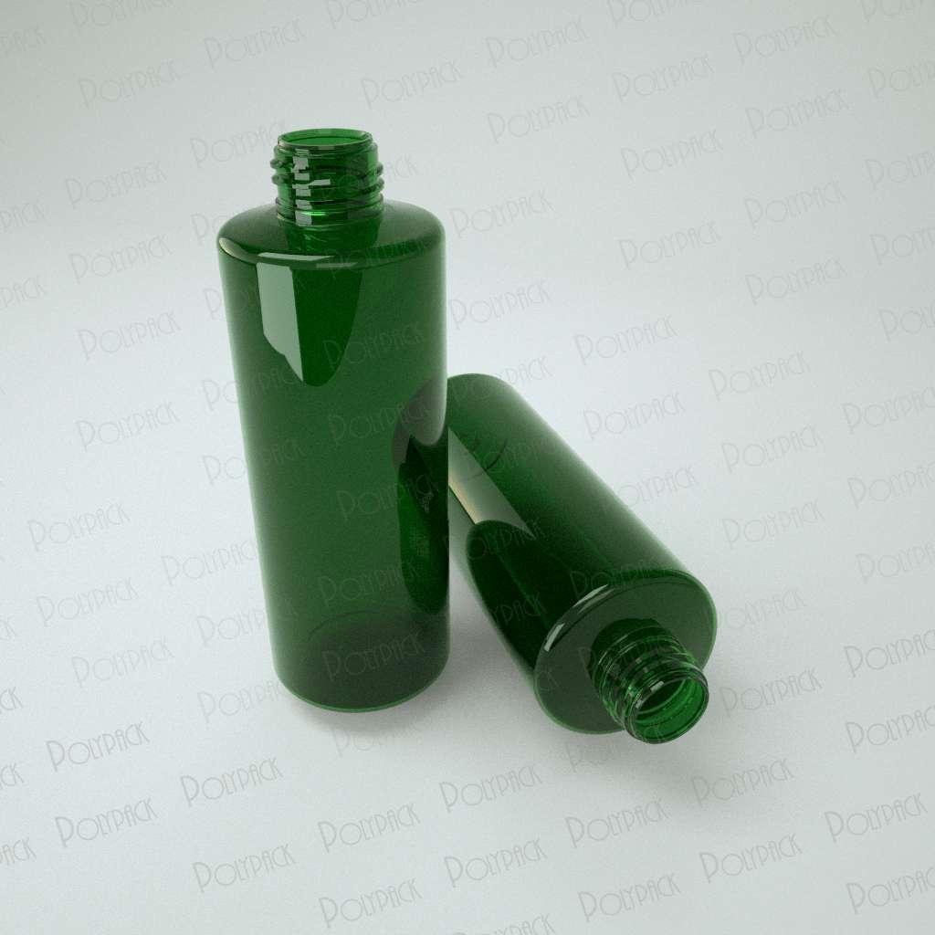 флакон зеленый пэт фото