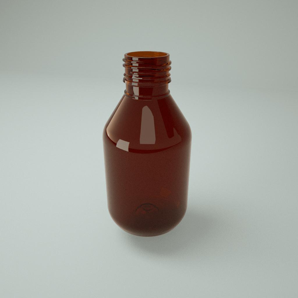 Флакон 100 мл – ПЭТ для жидких препаратов / Фарм-100 ПЭТ фото
